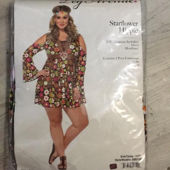9321342539c Leg Avenue Other - Hippie Costume 5 pieces